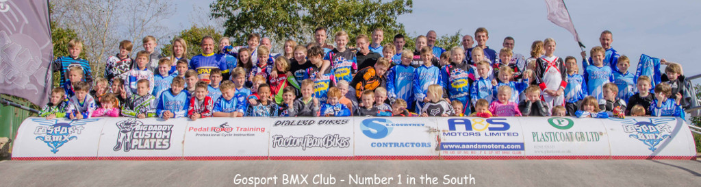 Gosport BMX Club Photo - No 1 Club in the South